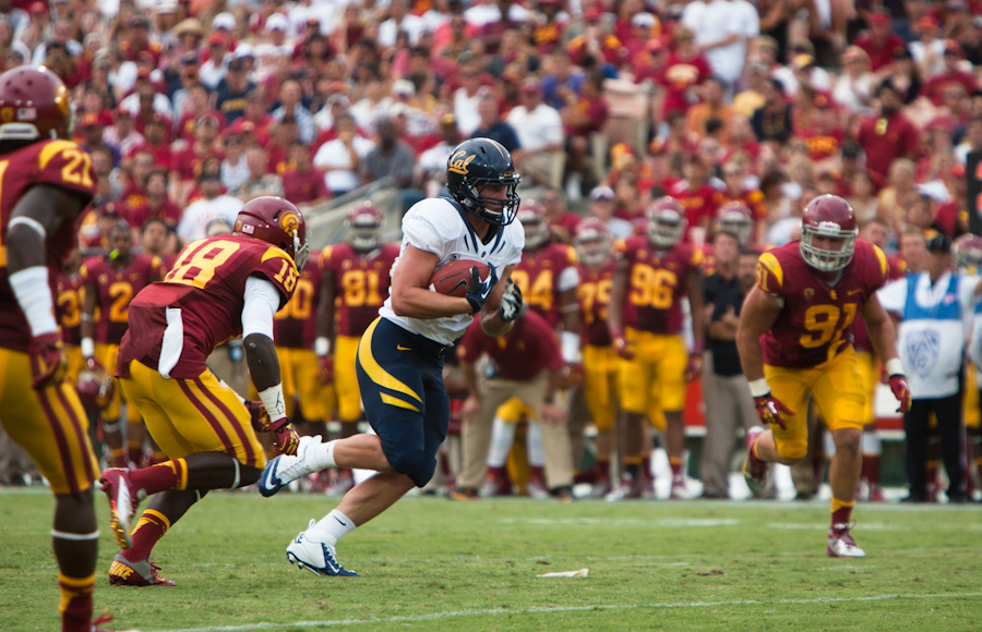 Cal Football: USC Game Time Set for 8 P.M.
