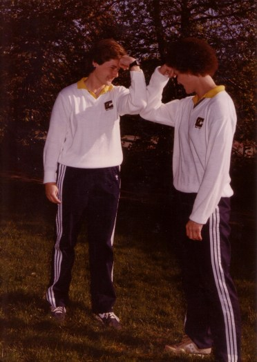 Ninemire (left) and Terry (right) coached together for five seasons at Cal and one season at Texas Women's University.