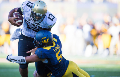 Lonny Powell hopes to make eventual 2-way impact for Cal