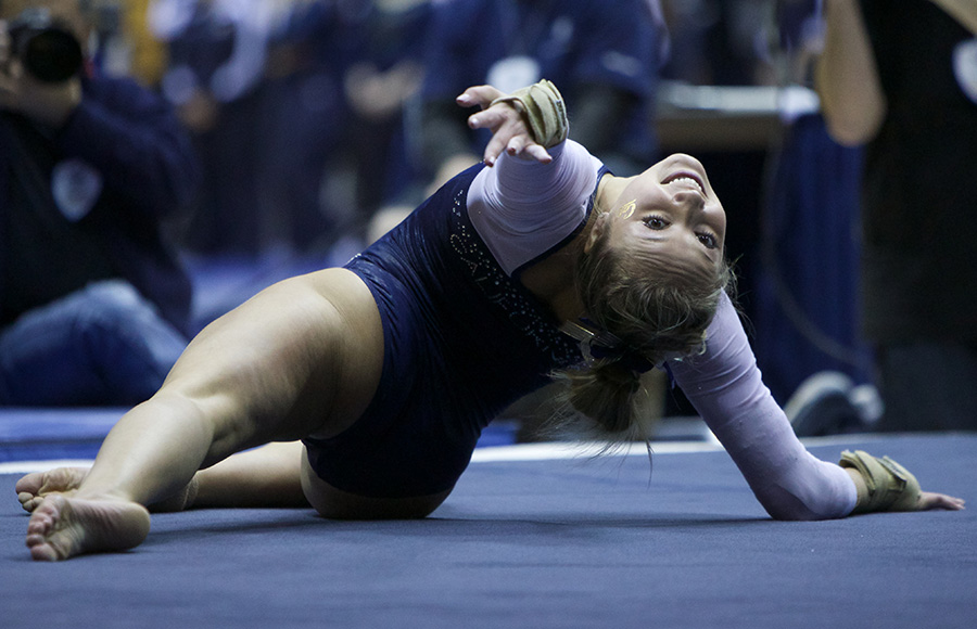 Cal women's gymnastics finishes second at Stanford tri ...