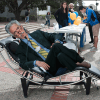 Chancellor Dirks napping