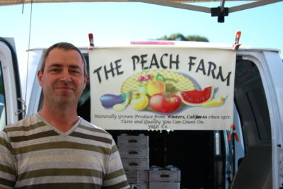 Customers of The Peach Farm conversed with the farmers as if they were long lost family members; inquiries about apples were peppered with questions about their kids.