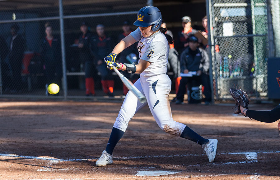 No  23 Cal softball seeks offensive revival in home series against