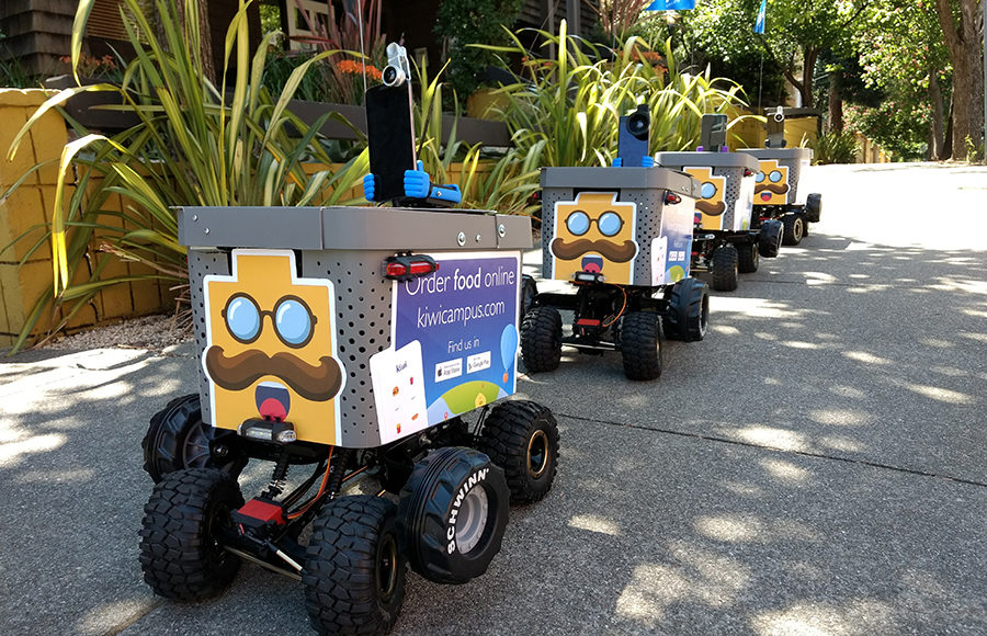 New Food Delivery Service Kiwi Brings Robots To Campus