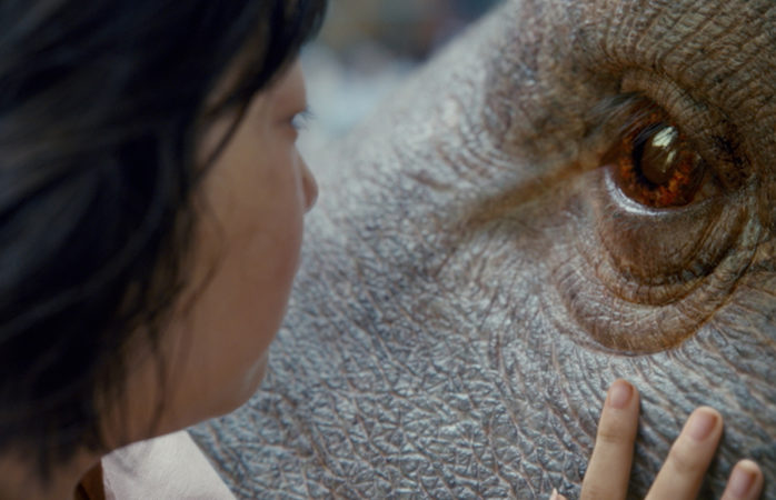 An Seo Hyun as Mija in OKJA