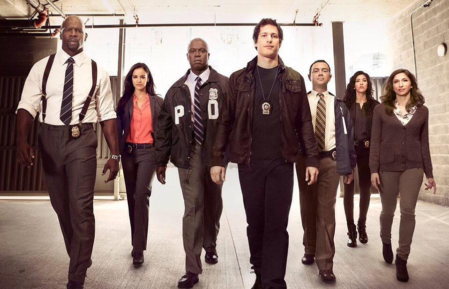 The cast of Brooklyn Nine-Nine
