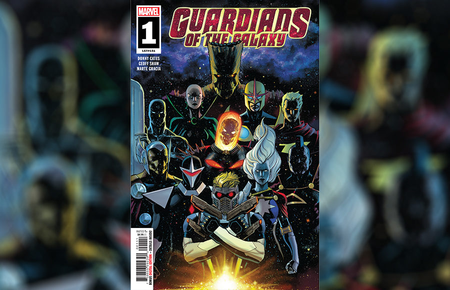 Guardians of the Galaxy' issue No  1 reveals marvelous new team