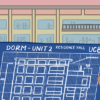 Blueprint of Unit 2 dorms