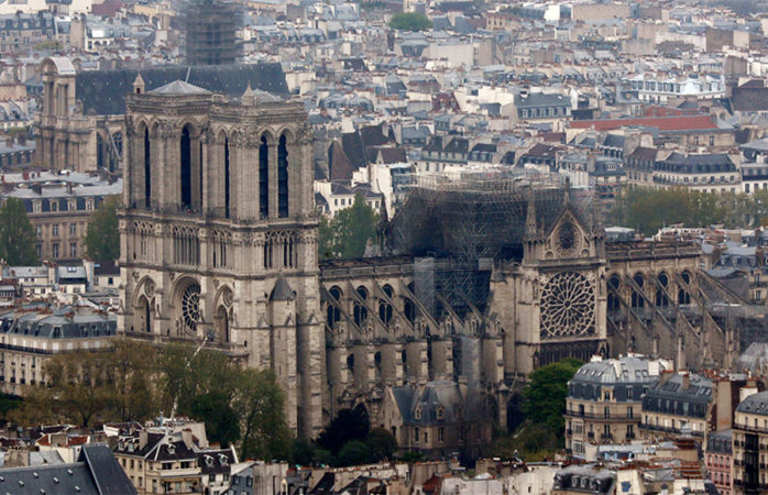 After fire at Notre-Dame cathedral, world mourns emblem of art, history, culture
