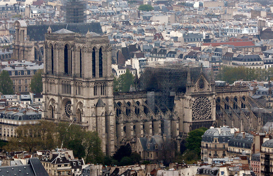 After Fire At Notre Dame Cathedral World Mourns Emblem Of Art History Culture