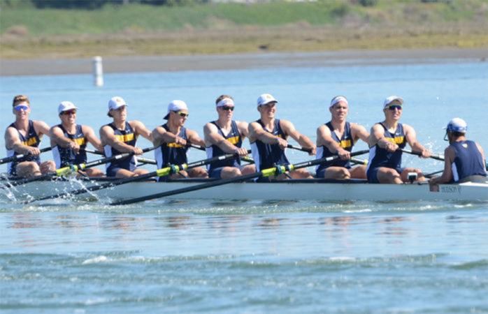No. 4 Cal men's rowing trails No. 2 Washington, finds redemption later