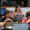 Students at an ASUC meeting