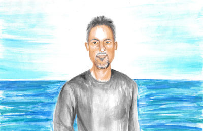 Illustration of Richard Ladkani