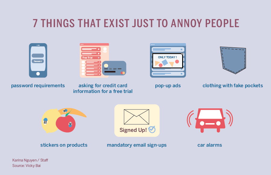 7 things that exist just to annoy people