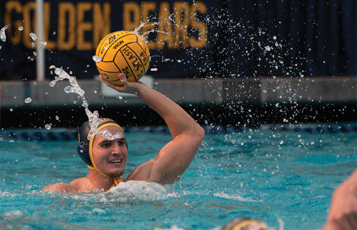 Cal men's water polo concludes busy week by hosting Davis, Pacific