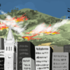 Illustration of wildfires in Berkeley