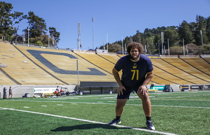 Making a hero: Jake Curhan is more than a lineman