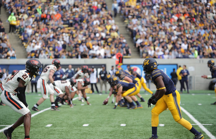 Cal football's free fall continues after 21-14 loss to Oregon State