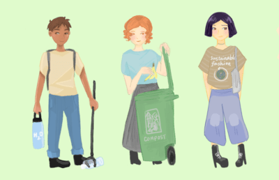 Illustration of sustainable practices