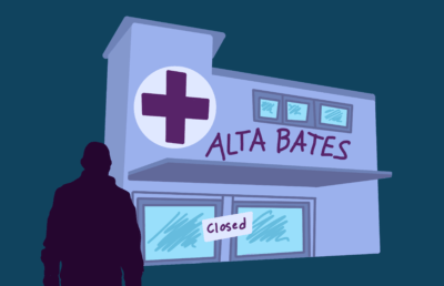 Illustration of closed Alta Bates