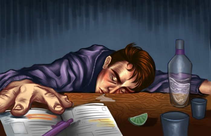 Recognizing binge drinking and alcoholism in college