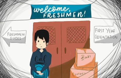 Illustration of freshman