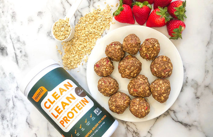 Peanut Butter Jelly Time: A healthy energy bliss balls recipe