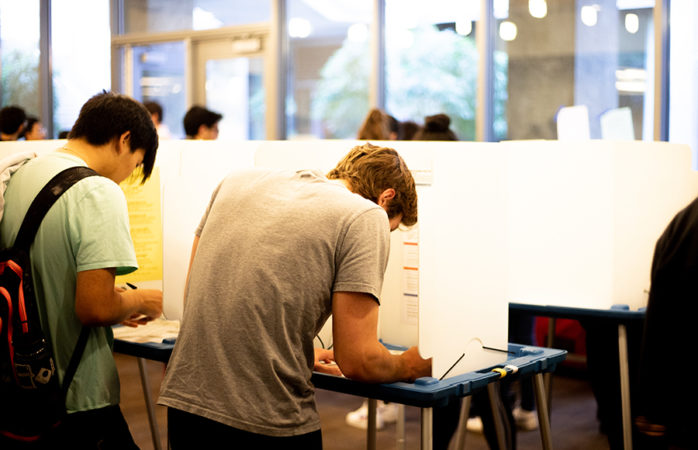 Who votes at UC Berkeley?
