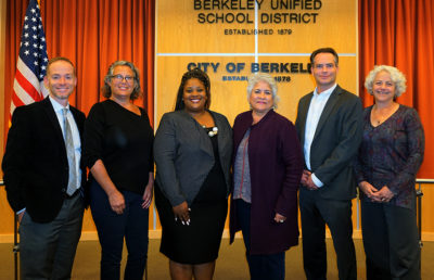BUSD meeting Berkeley Unified School District