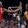 Micheal Jordan and Kobe Bryant