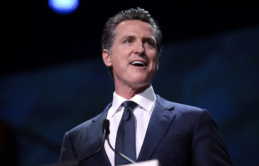 Governor of California Gavin Newsom
