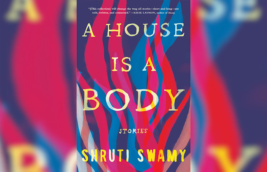 """Photo of the book, """"A House is a Body"""""""