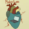(FILE) Illustration of a laptop inside a realistic heart