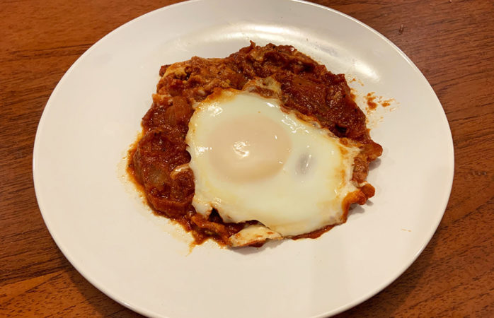 Impress your friends and family with this simple shakshuka recipe