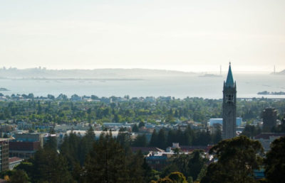 Photo of UC Berkeley and the city of Berkeley