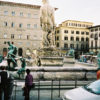 Photo of a fountain in Florence
