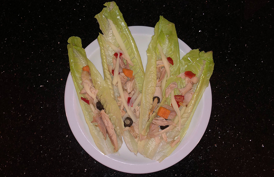 Quick, easy and simple: A tasty barbecue chicken lettuce wrap recipe