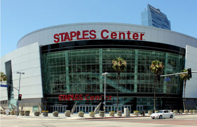 Photo of the Staples Center