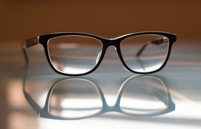 Photo of eye glasses