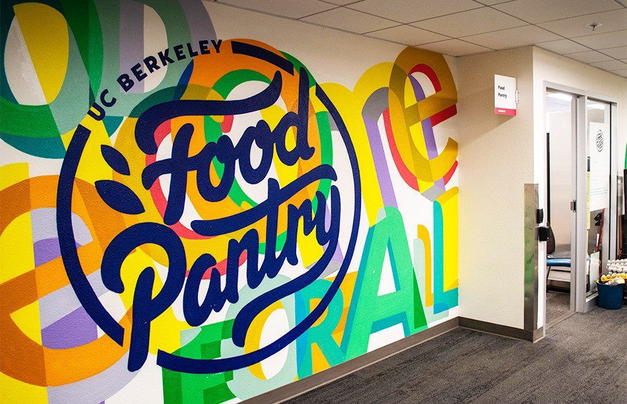 Photo of UC Berkeley Food Pantry
