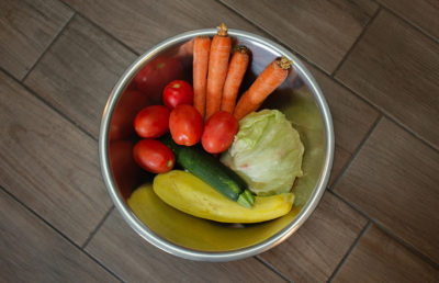 Photo of a bowl of vegetables