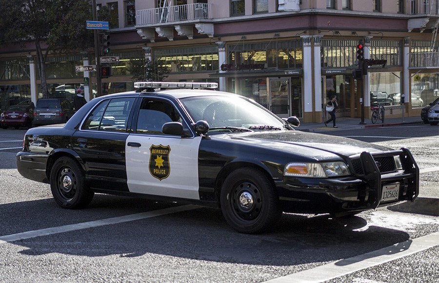 Photo of Berkeley Police Squad Car