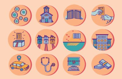 Illustration of 12 circular icons representing 12 different CA propositions.