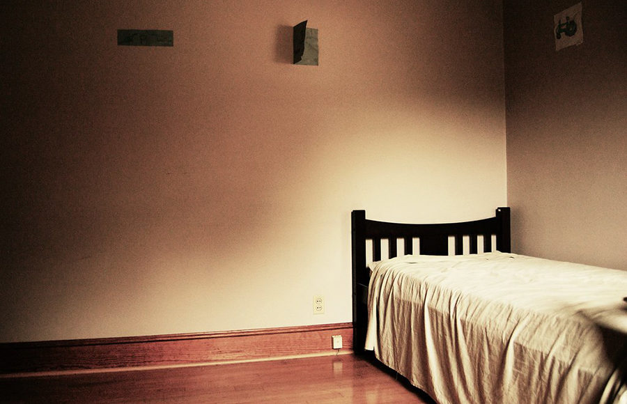 Photo of a bed