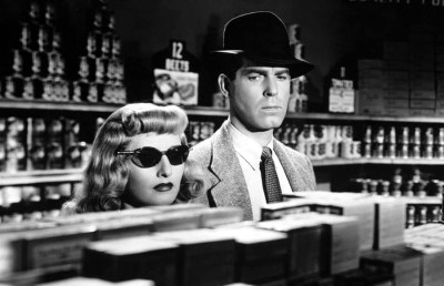 """Photo of Barbara Stanwyck and Fred MacMurray in """"Double Indemnity"""""""