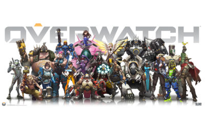 Photo of Overwatch video game cover