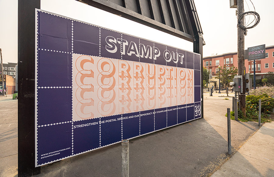 Photo of Stamp Out Corruption mural