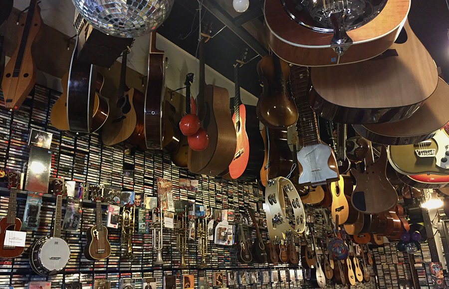 Photo of guitars