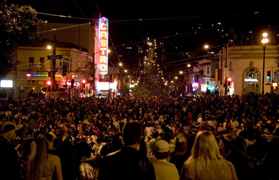 Photo of Halloween in the Castro District