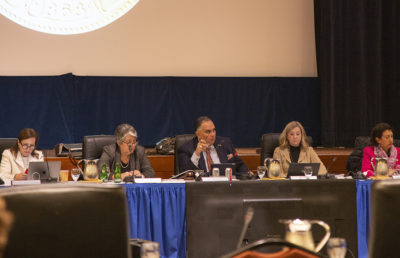 Photo of Regents Meeting from January 2020